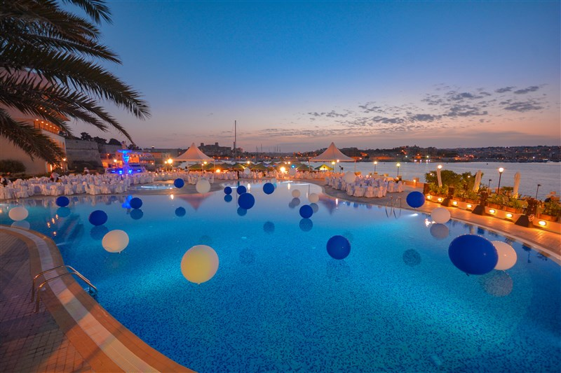 Excelsior Hotel Malta - Events poolarea
