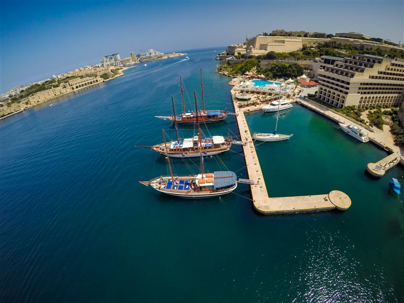 Excelsior Hotel Malta Incentive _Private Charter boats to Blue lagoon