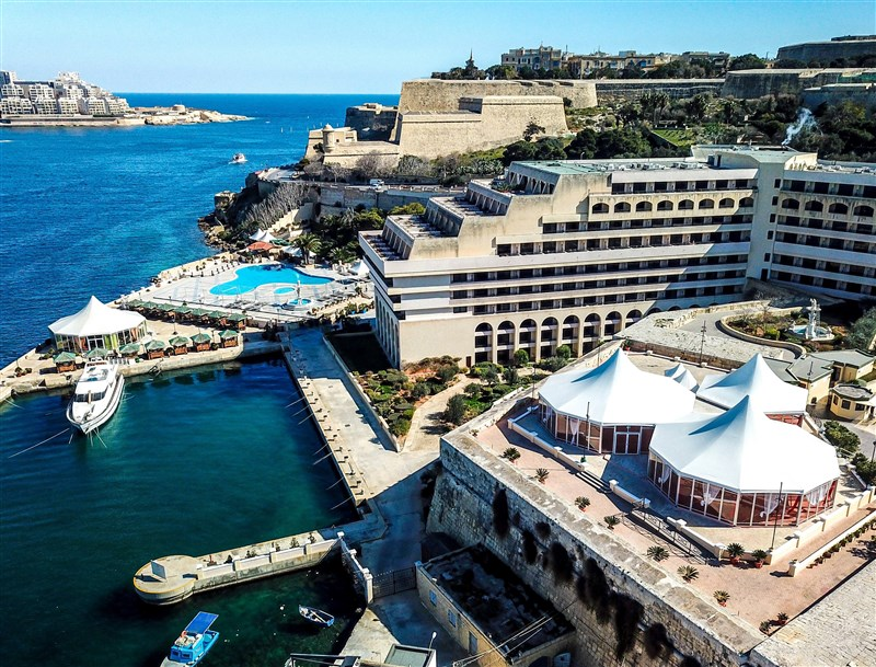 Excelsior Hotel Malta Venue - Bastion and Blue Ocean Bar