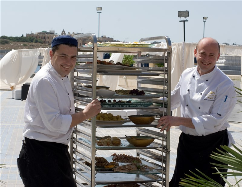 Excelsior Malta Kitchen Team