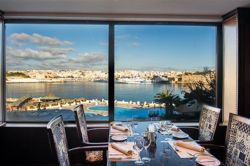 Excelsior Malta Venue -Admirals Landing View