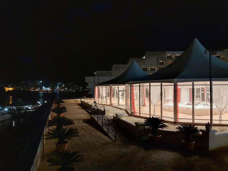 Excelsior Malta Venue - Bastion Terrace at Night