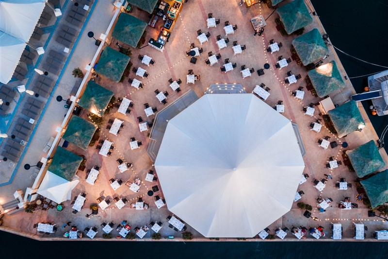 Excelsior Malta Venue - Blue Ocean Bar aerial view