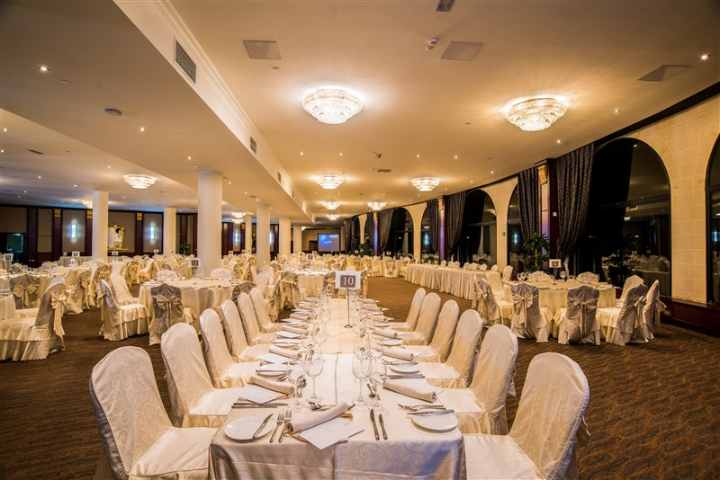 Excelsior Malta Venue - Floriani Hall Banquet set up