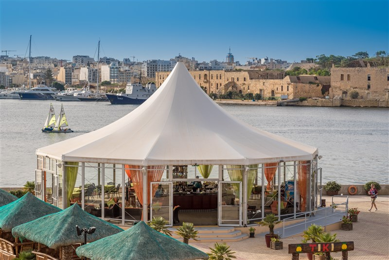 Excelsior Malta Venue - Tiki Village - BlueOcean Bar
