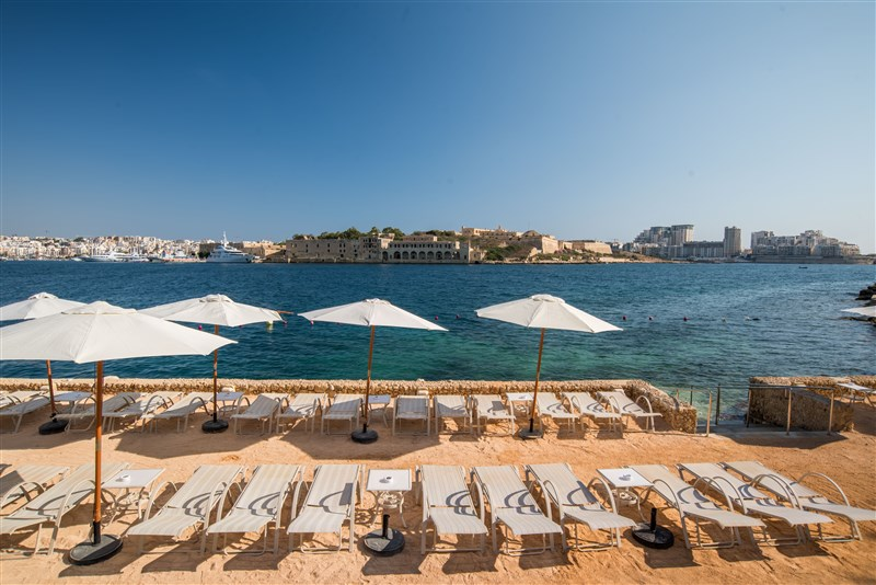 Grand Hotel Excelsior Malta Beach