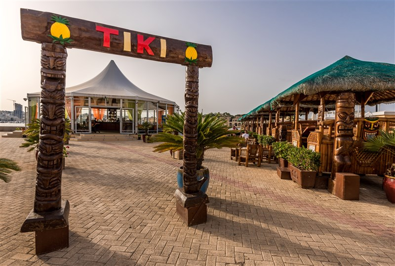 Grand Hotel Excelsior Malta Venue - Tiki Village