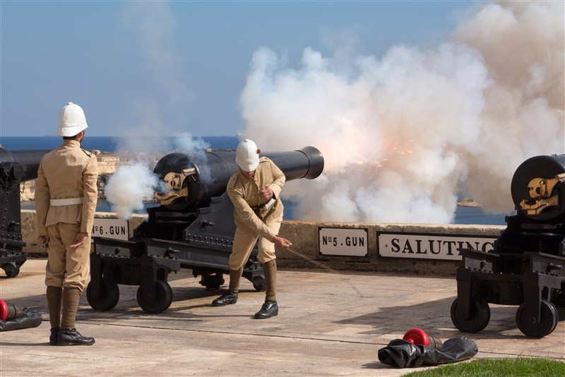 Malta Saluting Battery