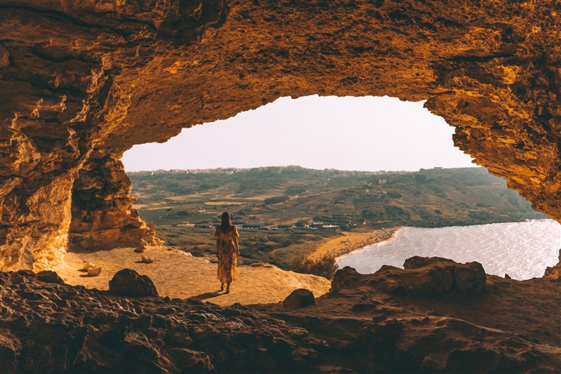 Tal-Mixta cave - Gozo