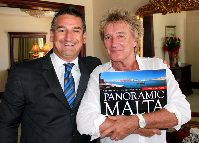 VIP guests at Excelsior - Rod Stewart
