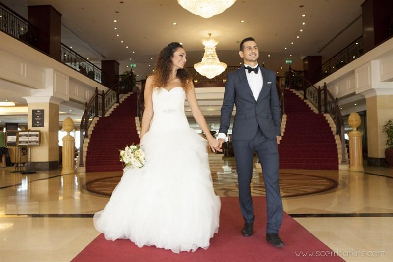 Malta Wedding Grand entrance