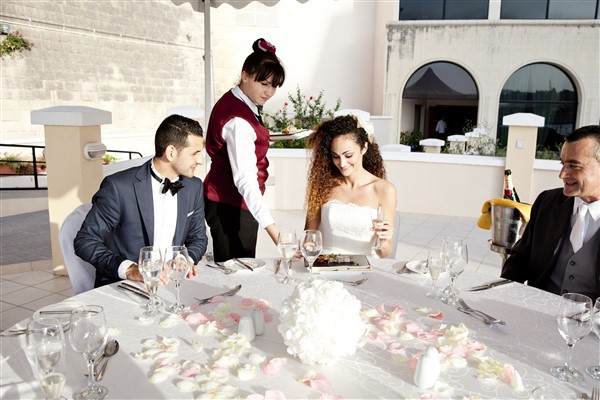 Outdoor Venue Wedding at Excelsior Malta