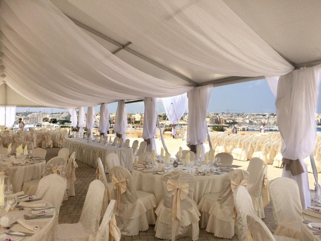 Outdoor Wedding Venue Excelsior Malta