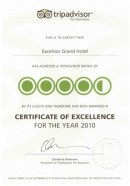 tripadvisor award 2010