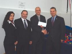 Grand Hotel Excelsior Malta donation 2014