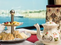 afternoon tea at excelsior Malta