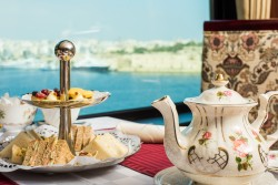 afternoon tea at excelsior Malta