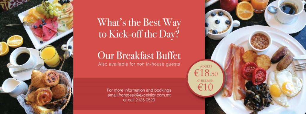 Excelsior Breakfast