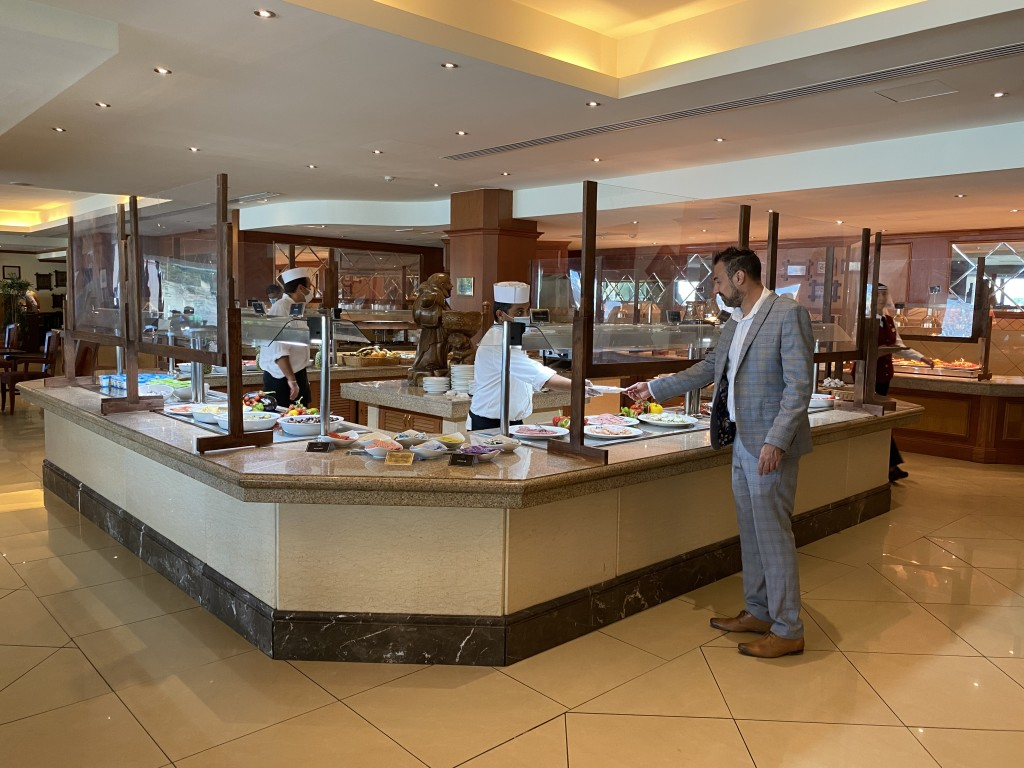 Grand Hotel Excelsior Malta Daily Buffet Breakfast
