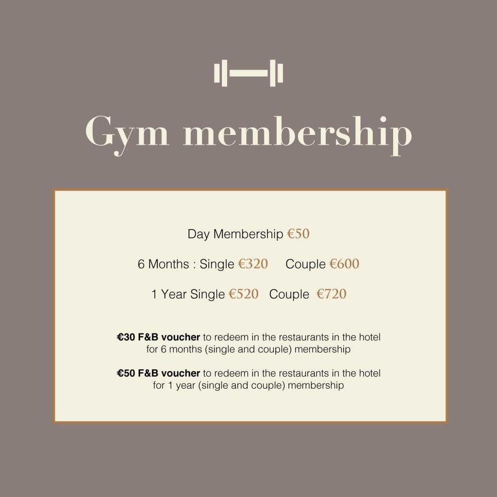Gym Membership September 2021