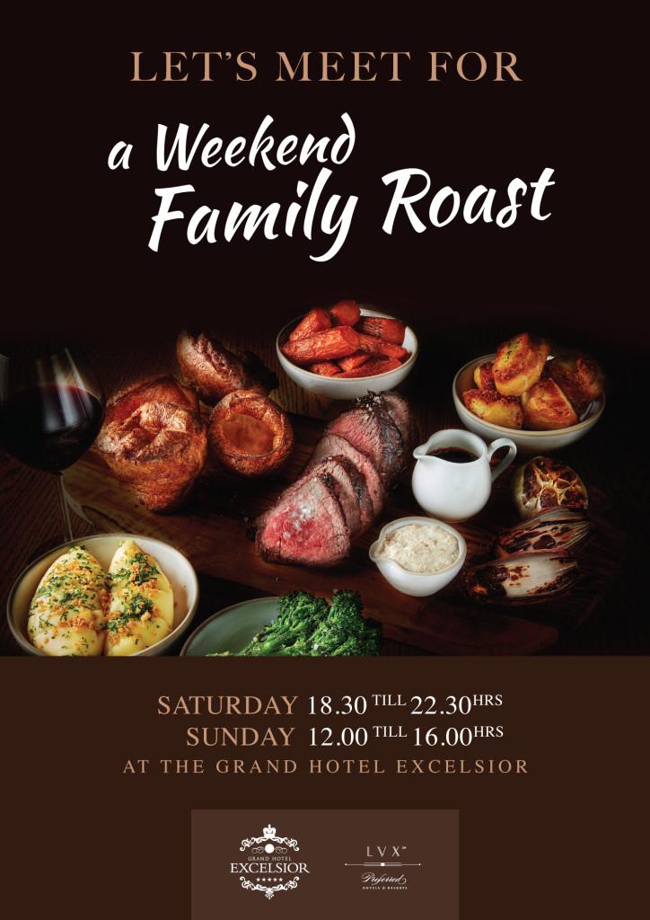 weekend family roast 2020