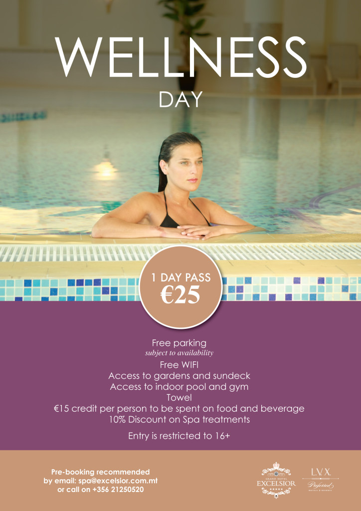 Spa and wellness day
