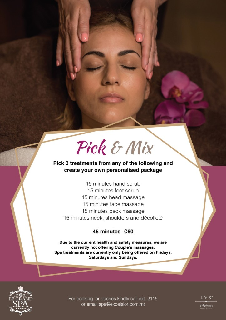 Winter Spa Pick and Mix 2021